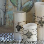 Quick and Easy Candle Wraps for Any Season! Home Decor kits at The Home Depot