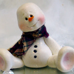 Learn to make a snowman with Polymer Clay – Take a class! + free book