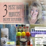 Monday Must Haves – 3 Products I keep in my studio! + video