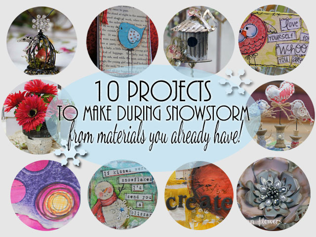 Craft projects for snowstorms