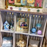 DIY on a Dime- Decorate  and Organize with Crates
