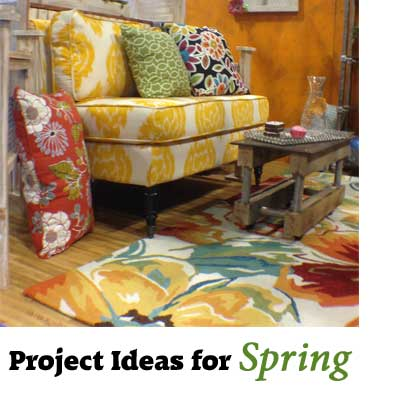 Spring Decorating DIY ideas & Color Trends