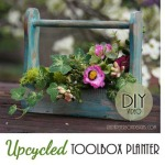 Upcycled Toolbox Garden Planter + Video