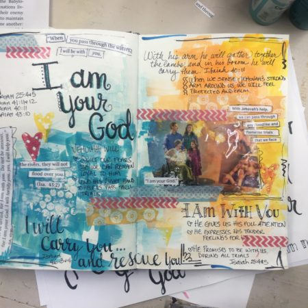 Creative Bible Journaling Study Notes – Video Timelapse