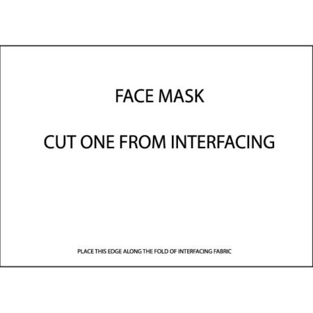 Beginner's Guide to Sewing – Face Mask